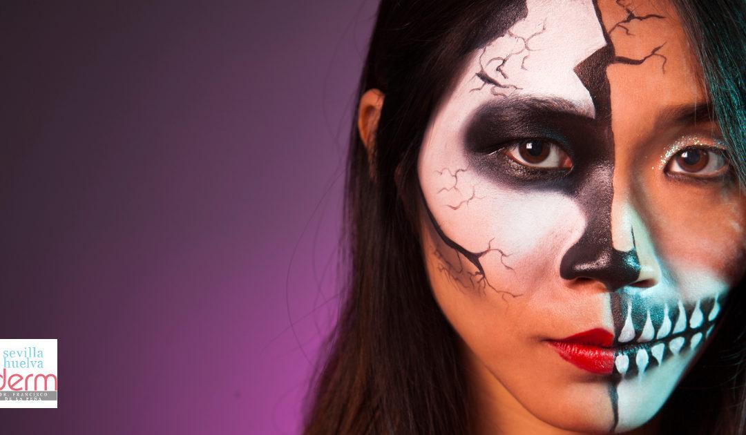 Maquíllate en Halloween sin que tu piel sufra
