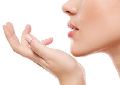 Remodelación del mentón con ácido hialurónico