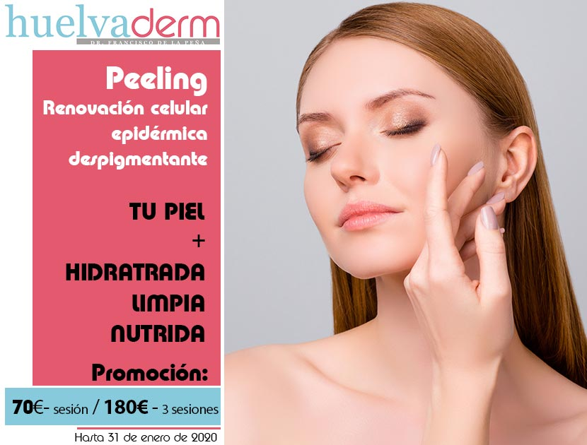 Oferta tratamiento de peeling