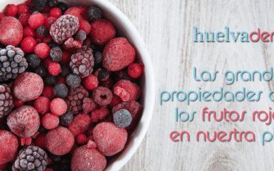 Las grandes propiedades de los frutos rojos en nuestra piel